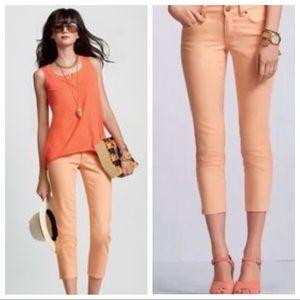 CAbi | Creamsicle Bree Crop Jeans